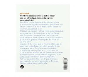 Veintidós consejos sobre tipografía (ACTAR) de Enric Jardí