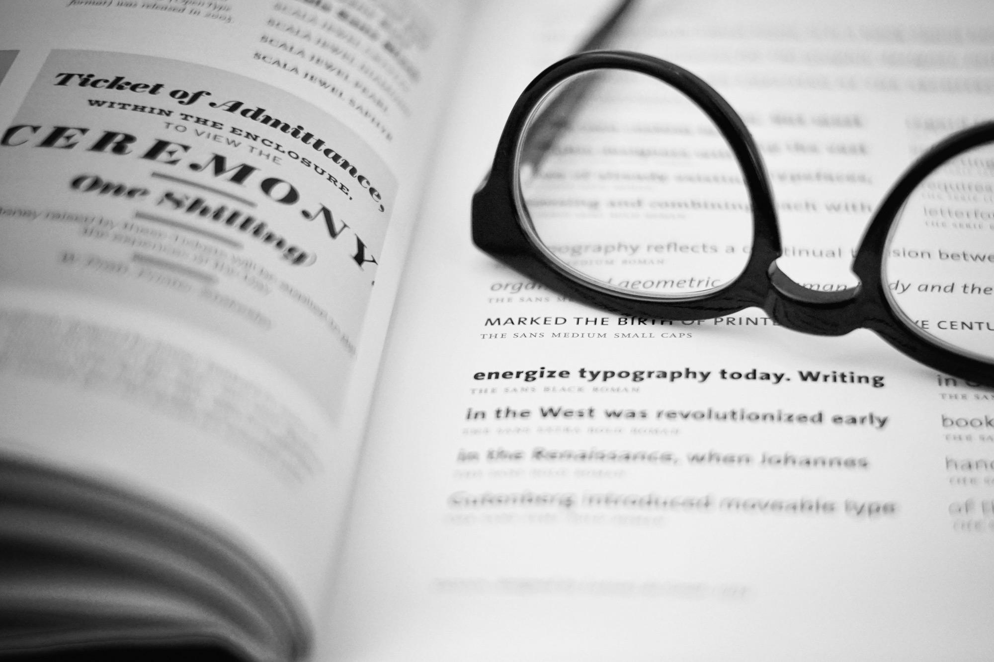 Que es la tipografía. Definición y guía básica para diseñadores principiantes.