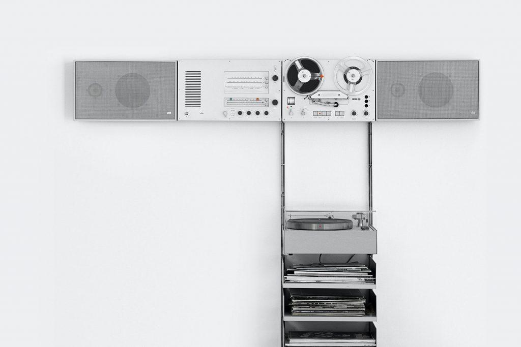 Dieter Rams, principios para un buen diseño. Diseño modular HiFi system for Braun.